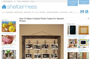 http://www.shelterness.com/how-to-make-a-stylish-photo-frame-for-several-photos/