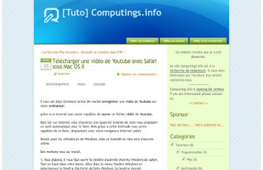 http://www.computings.info/index.php?post/Telecharger-un-video-de-Youtube-avec-Safari-sous-Mac-OS-X