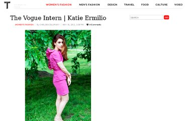 http://tmagazine.blogs.nytimes.com/2011/05/31/the-vogue-intern-katie-ermilio/
