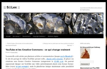 http://scinfolex.wordpress.com/2011/06/05/youtube-et-les-creative-commons-ce-qui-change-vraiment/
