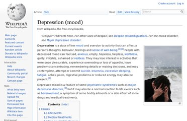 http://en.wikipedia.org/wiki/Depression_(mood)