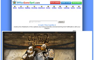 http://www.officegamespot.com/flashgames/crush-the-castle-2.htm