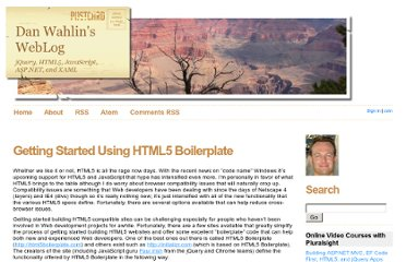 http://weblogs.asp.net/dwahlin/archive/2011/06/05/getting-started-using-html5-boilerplate.aspx