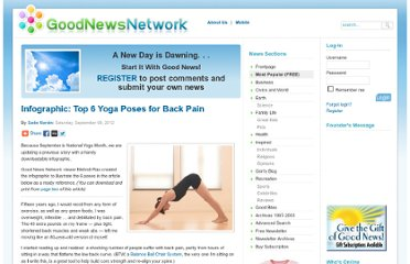http://www.goodnewsnetwork.org/most-popular/6-yoga-poses-for-back-pain-pg1.html