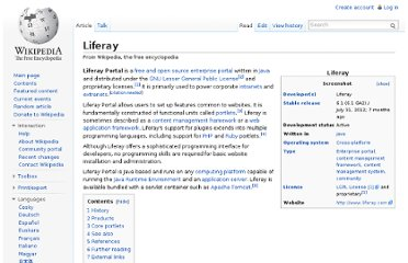 http://en.wikipedia.org/wiki/Liferay