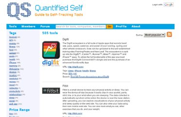 http://quantifiedself.com/guide/