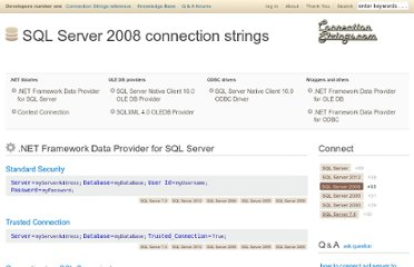 http://www.connectionstrings.com/sql-server-2008