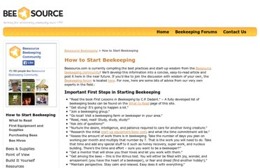 http://www.beesource.com/how-to-start-beekeeping/