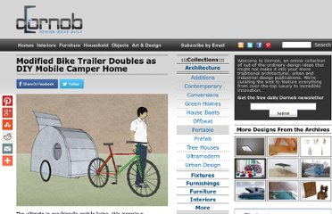 http://dornob.com/modified-bike-trailer-doubles-as-diy-mobile-camper-home/