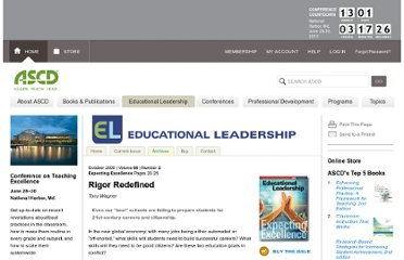 http://www.ascd.org/publications/educational-leadership/oct08/vol66/num02/Rigor-Redefined.aspx