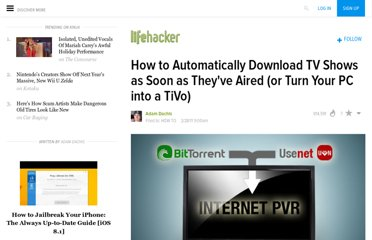 http://lifehacker.com/5771670/how-to-turn-your-computer-into-an-internet-personal-video-recorder