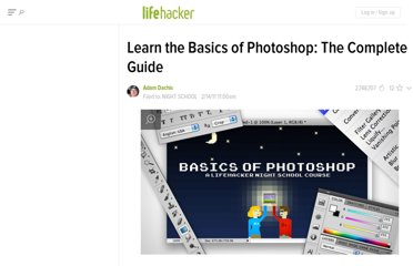 http://lifehacker.com/5758404/learn-the-basics-of-photoshop-the-complete-guide