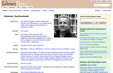 http://www.librarything.com/profile/Parthurbook