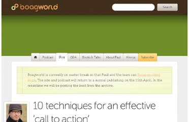 http://boagworld.com/design/10-techniques-for-an-effective-call-to-action/