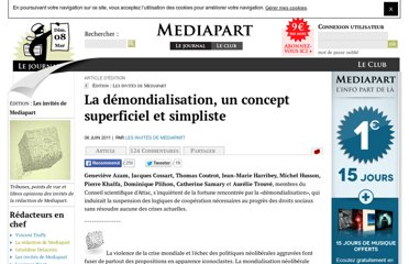 http://blogs.mediapart.fr/edition/les-invites-de-mediapart/article/060611/la-demondialisation-un-concept-superficiel-et-s
