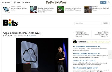 http://bits.blogs.nytimes.com/2011/06/06/apple-really-is-slowly-killing-the-pc/