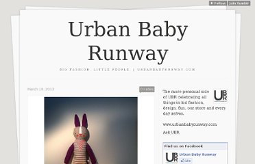 http://urbanbabyrunway.tumblr.com/