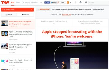 http://thenextweb.com/apple/2011/06/07/apple-stopped-innovating-with-the-iphone-youre-welcome/