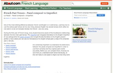 http://french.about.com/od/grammar/a/pasttenses.htm