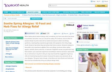 http://health.yahoo.net/rodale/PVN/soothe-spring-allergies-10-food-and-herb-fixes-for-allergy-relief