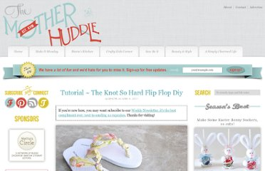 http://www.themotherhuddle.com/tutorial-the-knot-so-hard-flip-flop-diy/