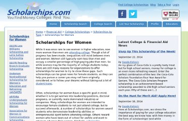 http://www.scholarships.com/financial-aid/college-scholarships/scholarships-by-type/scholarships-for-women/