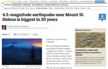 http://www.oregonlive.com/pacific-northwest-news/index.ssf/2011/02/earthquake_near_mount_st_helens_was_biggest_in_30_years.html