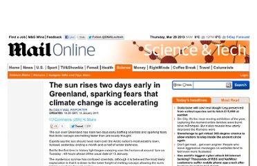 http://www.dailymail.co.uk/sciencetech/article-1346936/The-sun-rises-days-early-Greenland-sparking-fears-climate-change-accelerating.html#ixzz1GG9QnbOt