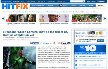 http://www.hitfix.com/articles/8-reasons-green-lantern-may-be-the-truest-dc-comics-adaptation-yet