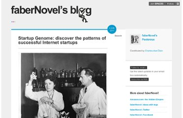 http://blog.fabernovel.com/startup-genome-discover-the-patterns-of-succe