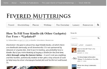 http://mikesowden.org/feveredmutterings/fill-your-kindle-for-free
