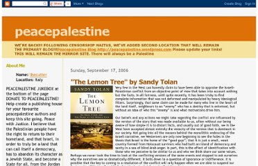 http://peacepalestine.blogspot.com/2006/09/lemon-tree-by-sandy-tolan.html