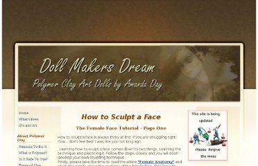http://www.dollmakersdream.com/how-to-sculpt-a-face-1.html
