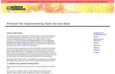 http://sciencecommons.org/projects/publishing/open-access-data-protocol/