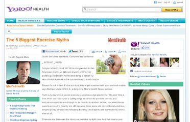 http://health.yahoo.net/experts/menshealth/5-biggest-exercise-myths