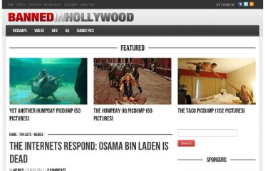http://www.bannedinhollywood.com/the-internets-respond-osama-bin-laden-is-dead/