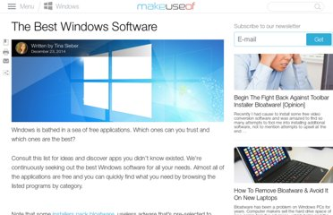 http://www.makeuseof.com/pages/best-windows-software#maintenance