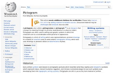 http://en.wikipedia.org/wiki/Pictogram
