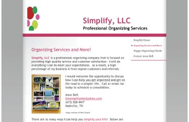 http://www.thesimplifysite.com/Organizing-Services-and-More-.html