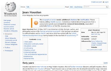 http://en.wikipedia.org/wiki/Jean_Houston