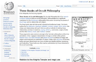http://en.wikipedia.org/wiki/Three_Books_of_Occult_Philosophy