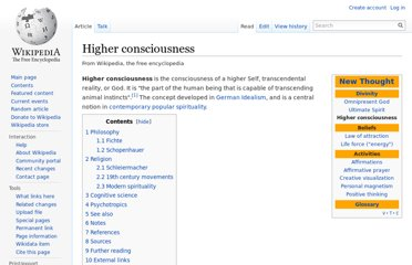 http://en.wikipedia.org/wiki/Higher_consciousness