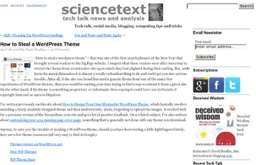 http://www.sciencetext.com/how-to-steal-a-wordpress-theme.html
