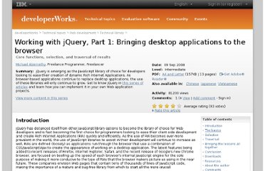 http://www.ibm.com/developerworks/web/library/wa-jquery1/