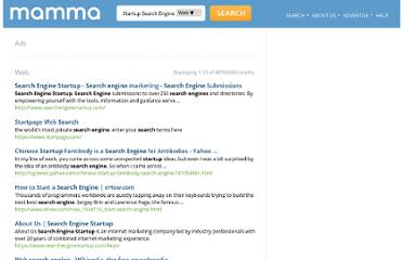 http://www.mamma.com/result.php?q=Startup+Search+Engine&type=web