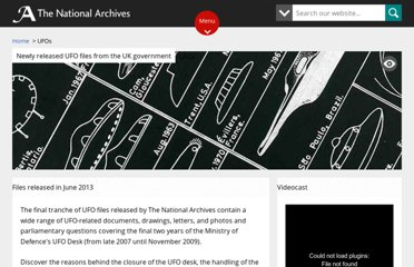 http://www.nationalarchives.gov.uk/ufos/