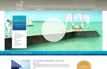 http://www.tajhotels.com/Luxury/Exotica-Resort-And-Spa/Taj-Exotica-Resort-And-Spa-Maldives/Overview.html