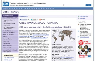 http://www.cdc.gov/globalaids/Global-HIV-AIDS-at-CDC/default.html