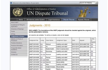 http://www.un.org/en/oaj/dispute/judgments_2010.shtml