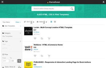 http://themeforest.net/category/site-templates